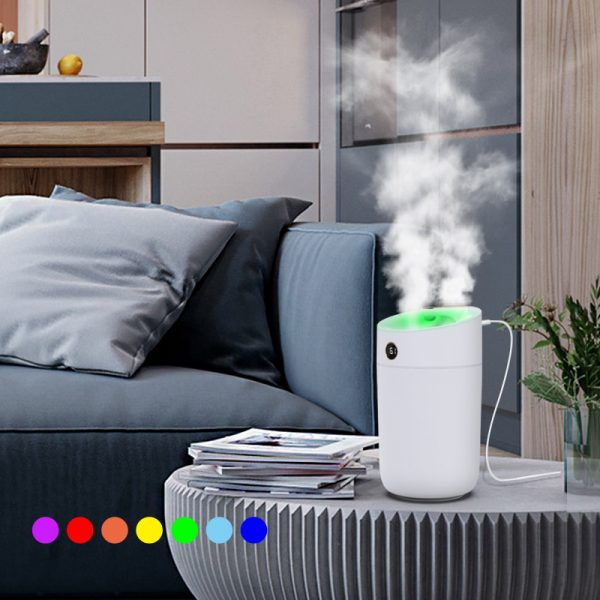 Large 3000mL USB Power Supply Breathing Light Humidifier Diffuser-X12